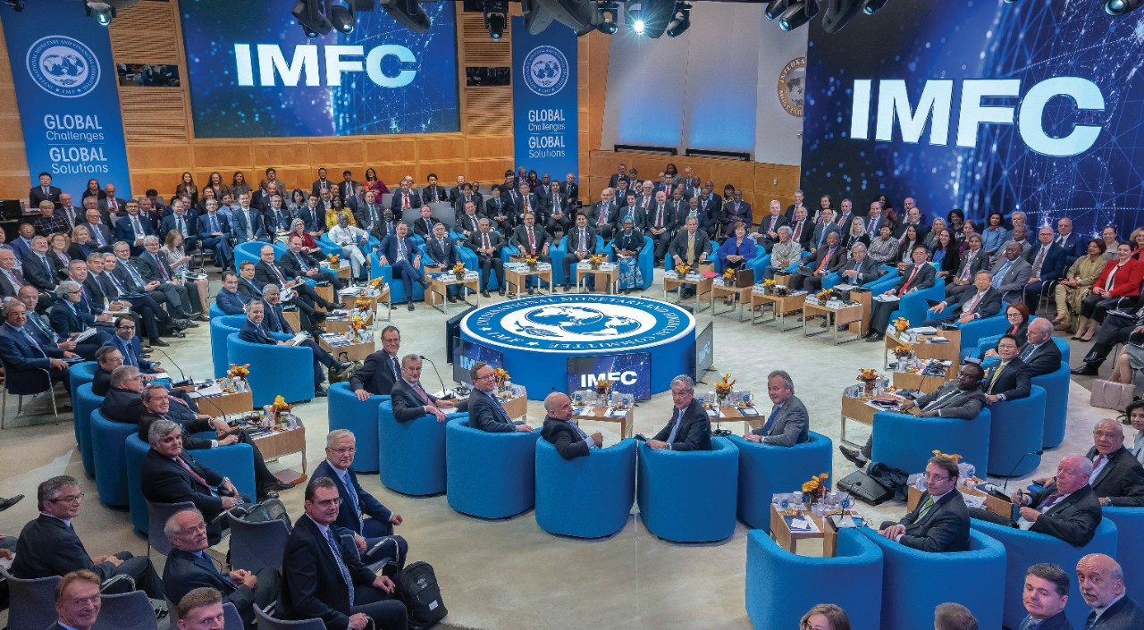 IMFC plenary session, October 2019